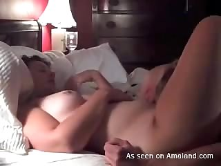Missionary sex with chubby girlfriend