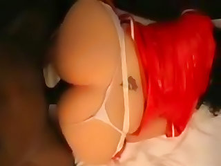 Chubby nurse loves big black cock