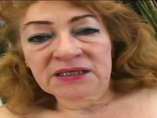 Capricious and fatty Jitka is riding on big penis on the bed