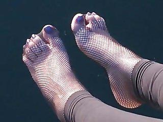 netstocking summer toes