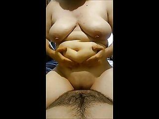 Mami Drops Her Fat On Papi! XxX
