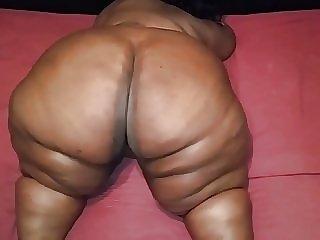 Plump Ebony Gilf Booty